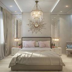 Home Decor Bedroom, Bedroom Decor, Bedroom Interior, Bedroom Inspirations, Apartment Design, Ceiling Design Bedroom, Modern Bedroom, Home Decor, Luxurious Bedrooms