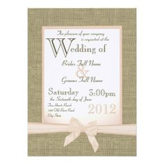 >>>best recommended          Burlap and Bow Blush Country Wedding Custom Announcements           Burlap and Bow Blush Country Wedding Custom Announcements today price drop and special promotion. Get The best buyShopping          Burlap and Bow Blush Country Wedding Custom Announcements lowe...Cleck Hot Deals >>> http://www.zazzle.com/burlap_and_bow_blush_country_wedding_invitation-161534729305821219?rf=238627982471231924&zbar=1&tc=terrest