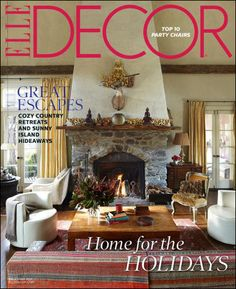 Elegant home decor inspiration and interior design ideas, provided by the experts at elledecor.com. Tour celebrity homes, get inspired by famous interior designers, and explore the world's architectural treasures.