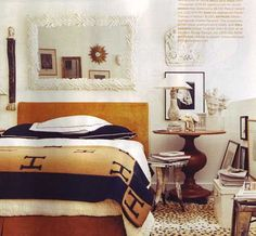 Look! Cheetah Print Carpet — Domino May 2008