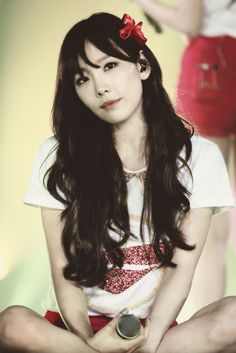 Taeyeon is so cute!