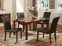 ACME Furniture - Portland 5 Piece Dining Set - 6770-5set