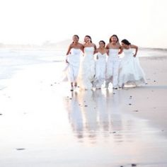 Five cousins celebrate their friendship and marriages with a fun Rock the Frock shoot - no grooms required! (Pictures: Joanne Markland)