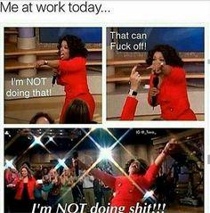 "41 Likes, 3 Comments - Taylor (@theangryprincess__) on Instagram: ""Today #work #retailhell #retail #lazybones #notfeelingit #oprah #oprahsfavoritethings"""