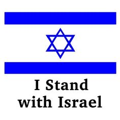 Pam Bairnsfather stands with Israel