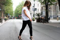 clochet - streetstyle - outfit - mango premium leather jacket - papiroga necklace - blanco heels-6