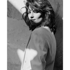 Portrait of Charlotte Rampling by Peter Lindbergh, 1982 Charlotte Rampling, Charlotte Ronson, Paolo Roversi, Peter Lindbergh, White Photography, Portrait Photography, Fashion Photography, Glamour Photography, Editorial Photography