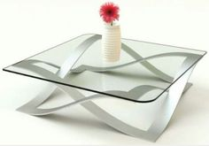 Modern glass coffee table designsModern Home Interior Design - Couchtisch Stylish Coffee Table, Contemporary Glass Coffee Tables, Modern Coffee Tables, Modern Table, Modern Contemporary, Glass Top Coffee Table, Coffe Table, Coffee Table With Storage, Coffee Table Design