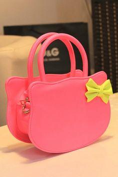 Cute Hello Kitty Bag $55.08 http://www.oasap.com/handbags/30141-cute-hello-katty-bag.html