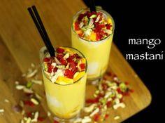 mango kulfi recipe, easy no cook mango kulfi recipe with milkmaid with step by step photo/video. instant indian dessert matka kulfi recipe loved by kids. Milkshake Drink, Mango Milkshake, Milkshake Recipes, Smoothie Recipes, Smoothies, Mango Recipes, Nut Recipes, Ice Cream Recipes, Snack Recipes
