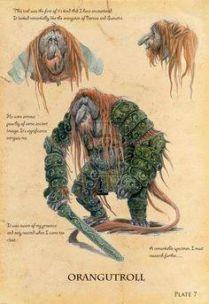Orangutroll by eoghankerrigan on deviantART