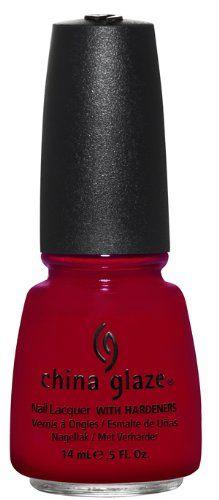 China Glaze Nail Polish, Adventure Red-Y, 0.5 Fluid Ounce