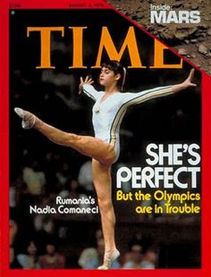 Nadia Comaneci - you had no idea how much of a star she was.