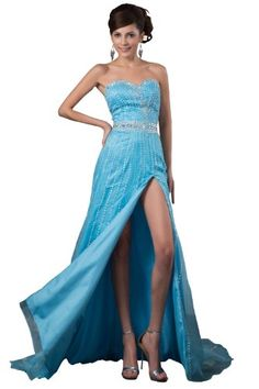 Jessni Women's A-Line Delicate Beading Long Dress...