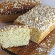 Polish Coffee Cake with Crumb Topping - Placek Kruszonka  Not the same as ours but I will note it!