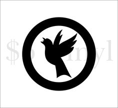 Black Canary Vinyl Car Decal, DC Comics, Sticker, The Arrow, Green Arrow, Decal, Window Decal - pinned by pin4etsy.com