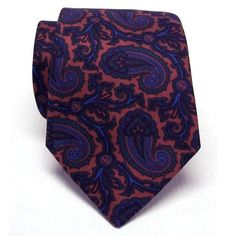 Atkinsons Ancient Madder Necktie - Paisley (Rst0) 805-67