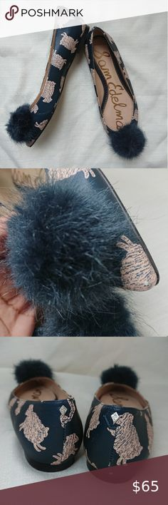 Leg Avenue Two Tone Furry Bear Hood Pom Poms Blue and Hot Pink New W Tags