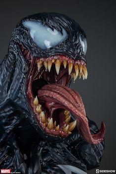 Marvel Venom Life-Size Bust by Sideshow Collectibles New Venom, Venom Art, Venom Spiderman, Marvel Venom, Venom Comics, Marvel Comics Art, Sinister Marvel, The Other Marvel, Life Size Statues