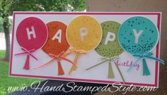 HAPPY Birthday little letters alphabet thinlits and Sew You exclusive set