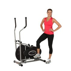 EXERPEUTIC'S Aero Air Elliptical is perfect for apartments or limited areas, where space saving is a priority. It will provide a low impact upper and