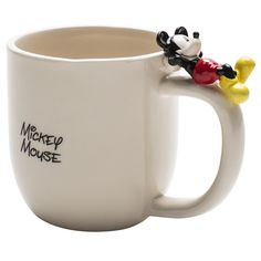 Mickey Mouse Mug with Figurine