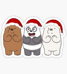 Official We Bare Bears fan art featuring your favorite characters. Stickers Cool, Bubble Stickers, Cartoon Stickers, Funny Stickers, Printable Stickers, Easy Disney Drawings, Kawaii Drawings, We Bare Bears Wallpapers, We Bear