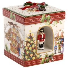 christmas box of ornament Nutcracker Christmas, Christmas Toys, Christmas Colors, Christmas Shopping, Christmas Decorations, Christmas Ornaments, Holiday Decor, Christmas China, Winter Christmas