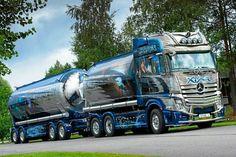 Mercedes Benz tank truck