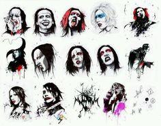 Marilyn Manson art