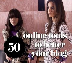 50 Online Tools to Better your Blog #blogging