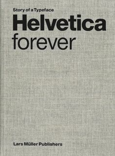 Designed in 1957, the Helvetica font is an icon of swiss graphic design, which was a model of sober, functional communication throughout the world in the 1950s and '60s.