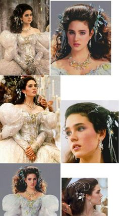 Jennifer Connelly als Sarah aus dem Film Labyrinth Sarah Labyrinth, David Bowie Labyrinth, Labyrinth Movie, Source D'inspiration, Labrynth, Second Hand Mode, Goblin King, Ball Gown Dresses, Masquerade Ball