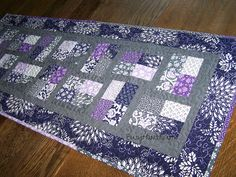 A Gift for my Sister - Phoebe's Flower Box Table Runner by Mrs. Hearts, via Flickr