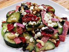 The combination of flavors in this Greek salad is one of my all time favorites. Especially when it is tossed with my Balsamic Shallot Vinaigrette Dressing Recipe. To transform this into a hearty dinner salad, simply omit one of the cucumbers and toss it all together with a head of chopped romaine. When I...