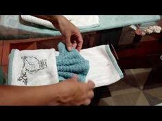 Como decorar y arreglar las toallas de baño (3) - YouTube