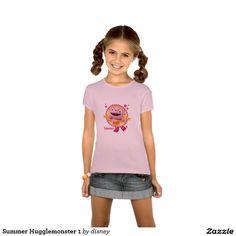Verano Hugglemonster 1 Poleras #camiseta #tshirt