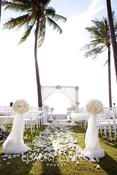 Luxury Events – Gallery of Phuket Weddings and Corporate Events in Phuket Thailand Asia.