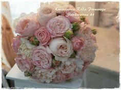 Bukiet ślubny z cudownych róż :-)