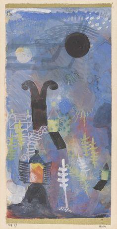 Paul Klee 'Murnau, Garten' 1918