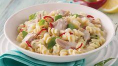 Alfredo Recipe with Chilli, Tuna & Basil