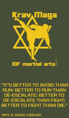 """The main principles of Ami, in developing Aiki Krav Maga (hand to hand combat) """"During the nineties, after seeing many ways in the martial art world, and in light of the luck of inner peace of Israelis as a result of increasing vio Krav Maga Self Defense, Self Defense Weapons, Israeli Krav Maga, Learn Krav Maga, Love You Friend, Art Of Fighting, Combat Training, Hand To Hand Combat, Mixed Martial Arts"""