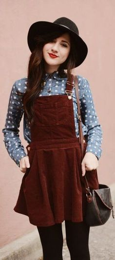 Ropa HIPSTER para chicas adolescentes TUMBLR 50f78d3c315