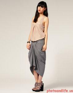 shorter rickowens-style skirt