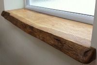 Solid Oak Window Sill - Sills & Shelves - Custom Window Sills and Shelves from Reclaimed and Rustic Timber
