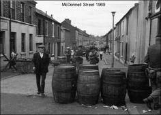 McDonnell Street 1969 - Rushlight Magazine - History, photographs and films of old Belfast districts, Ardoyne Shankill, Falls, etc.