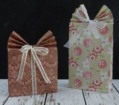Gift box / Cadeau zakje / Cadeau doosje / DIY
