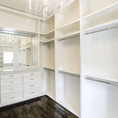 Every closet should have built-ins