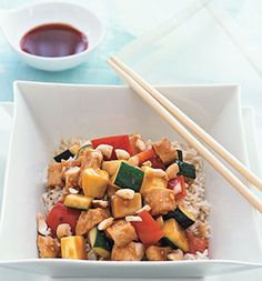 Chicken, Cashew and Vegetable Stir-fry