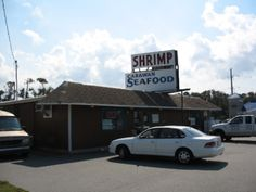 Carawan Seafood Company - One of our first stops when we arrive in OBX.  Spiced shrimp and beer make unpacking the car a lot more fun!